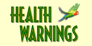 Please Read About Important Health Warnings to Keep Your Pet Bird Safe!