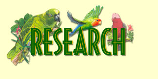 Research to Help Benefit  All Birds